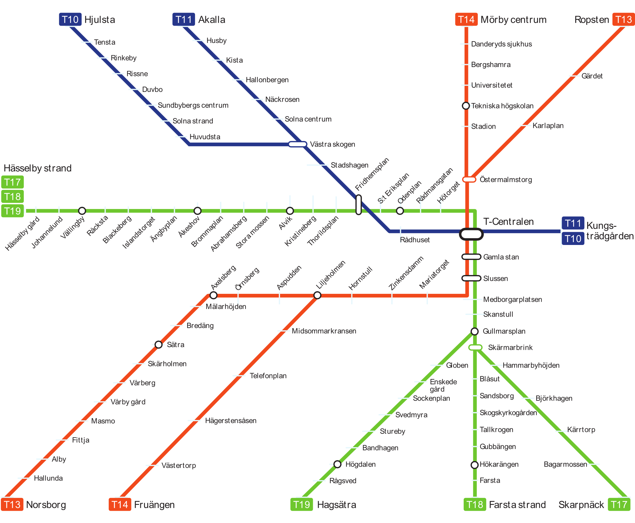 Sweden Subway Map.Stockholm Sweden Metasub